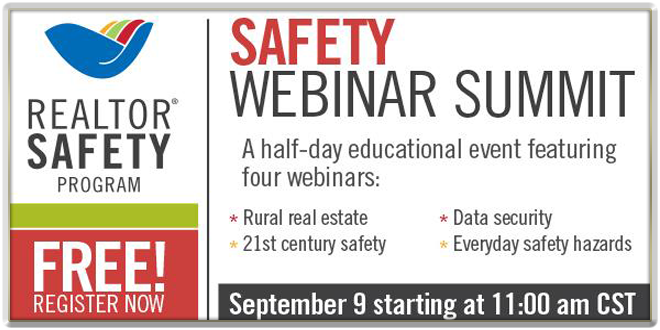 Realtor Safety Webinar Summit Banner