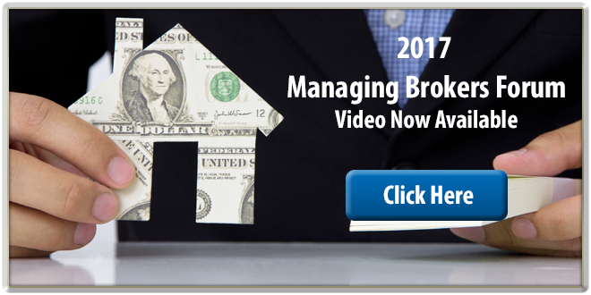 2017 Managing Brokers Forum Video Link