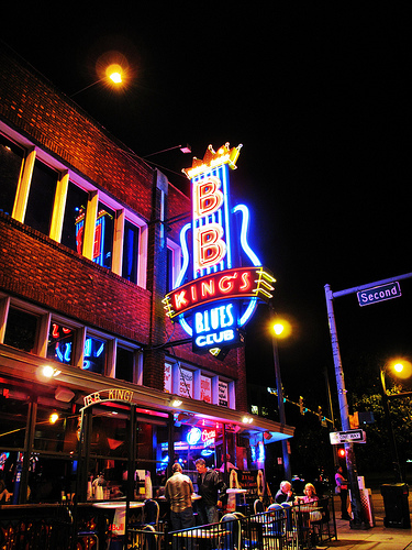BB Kings Memphis Exterior